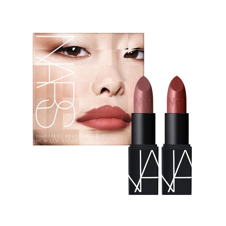 Warm Nude Mini Lipstick Duo, NARS Travel Size