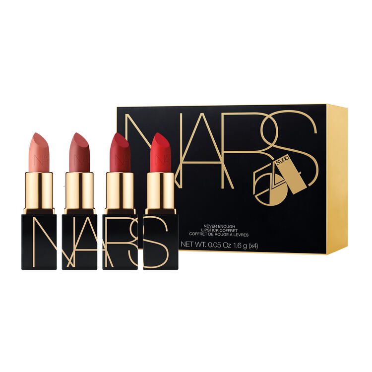 Never Enough Mini Lipstick Coffret, NARS Lips