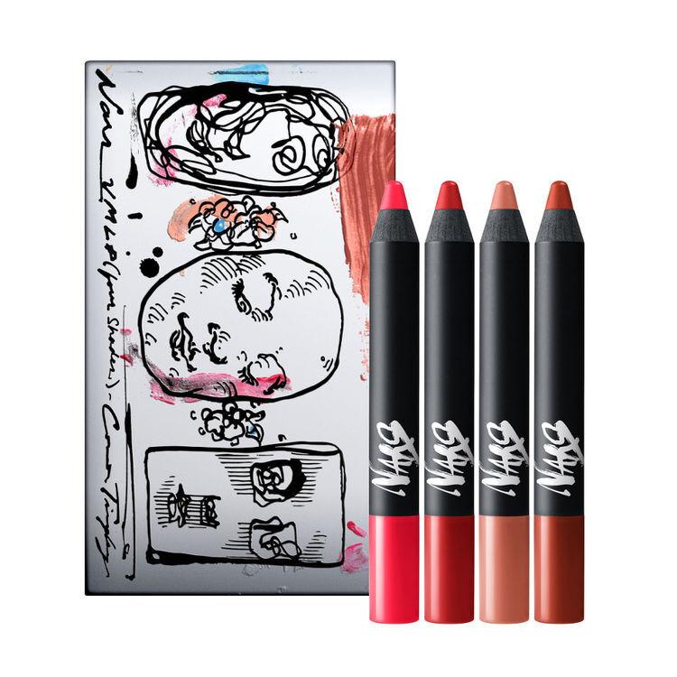 Connor Tingley Velvet Matte Lip Pencil Set, NARS Red